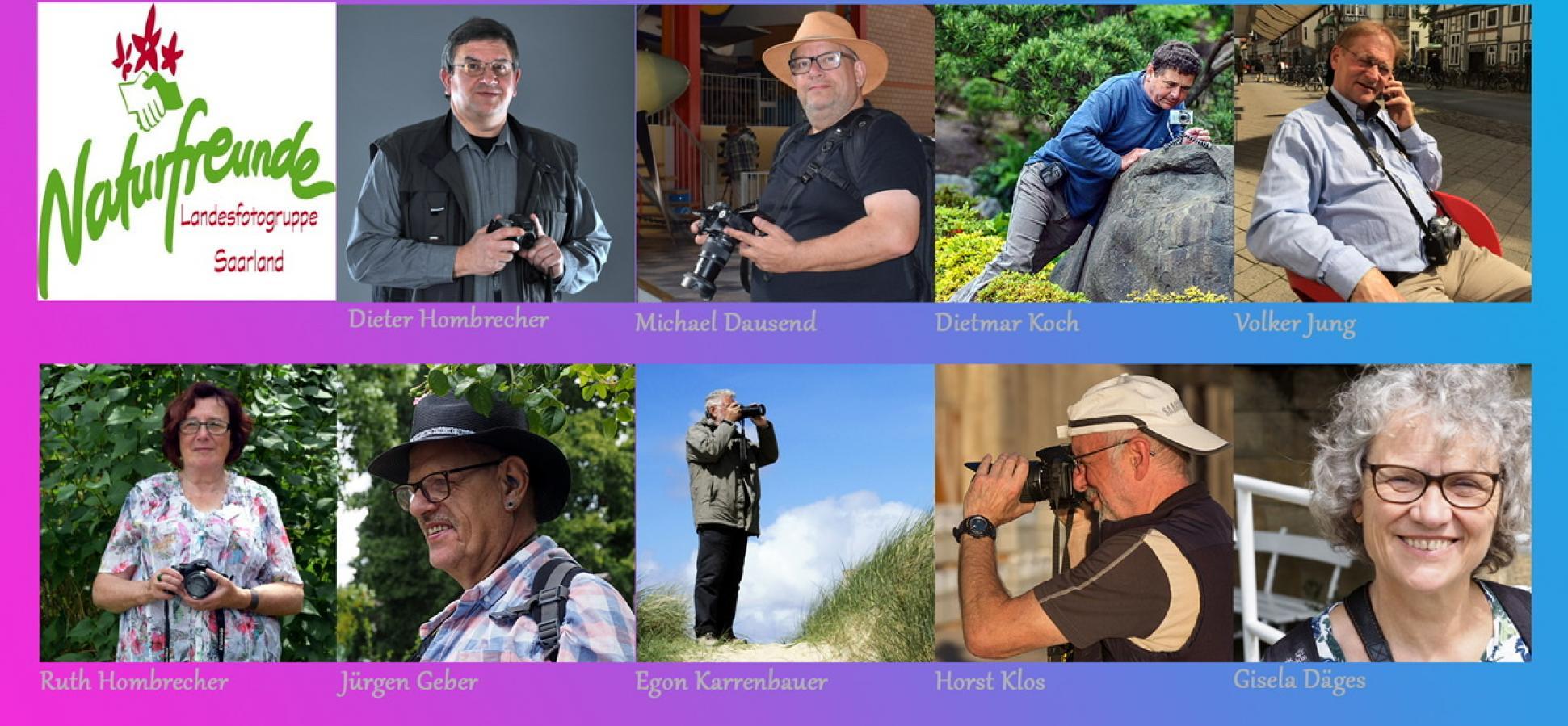 Mitglieder der Fotogruppe